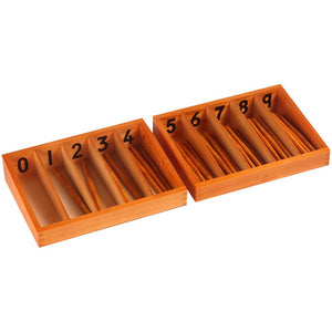 Buy Kidken Montessori Spindle Number Learning Box - GiftWaley.com