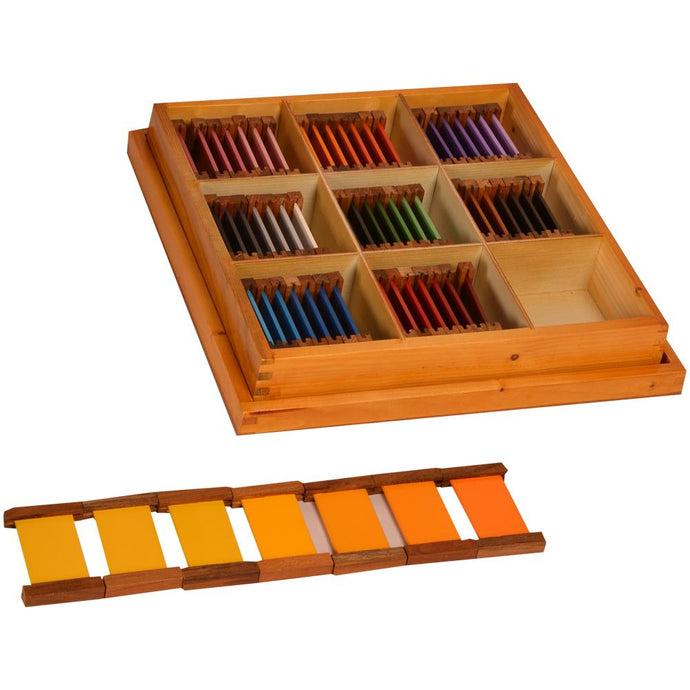 Buy Kidken Montessori Tertiary Colour Tablets Learning Box - GiftWaley.com