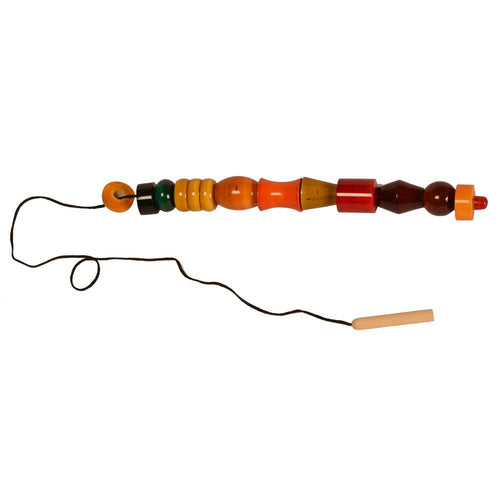 Buy Kidken Montessori Threading Bead Shapes - GiftWaley.com