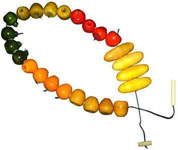 Buy Kidken Montessori Threading Fruit Shapes Activity Toy - GiftWaley.com