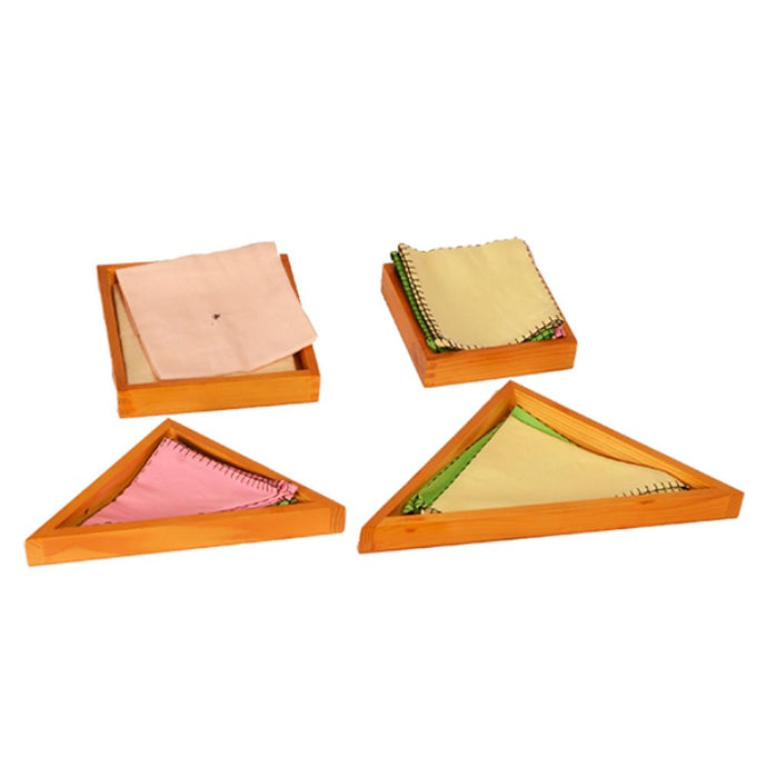 Buy Kidken Montessori Trays for Napkins & Dusters Learning Board - GiftWaley.com