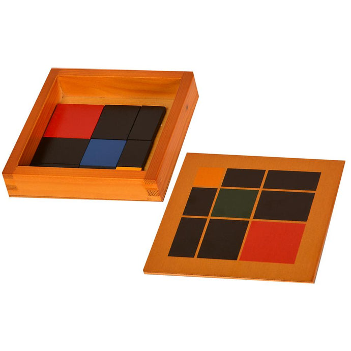 Buy Kidken Montessori Trinomial Squares Learning Box - GiftWaley.com