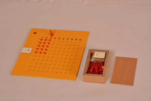Buy Kidken Multiplication Learning Board with Bead Box - GiftWaley.com