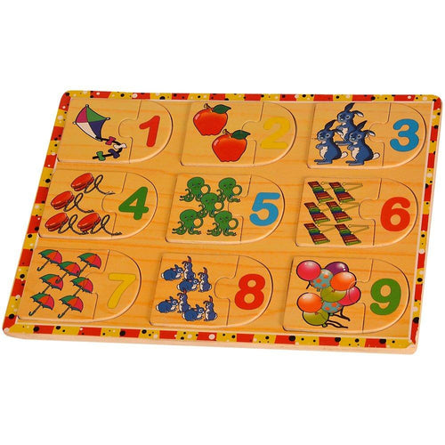 Buy Kidken Number with Picture Puzzle Set 2 - GiftWaley.com