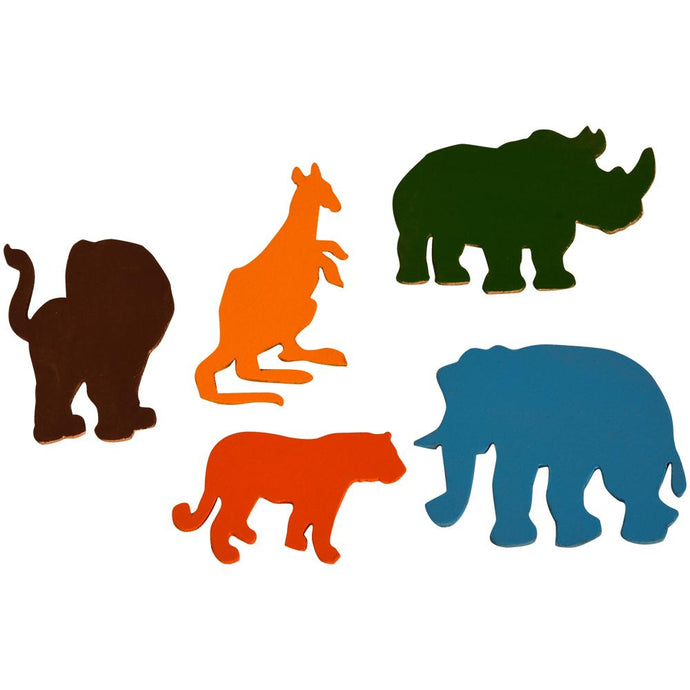 Buy Kidken Wild Animal Stencils - GiftWaley.com