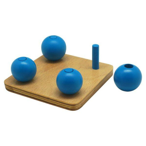 Buy Kido Toys Balls On Small Pegs Montessori Material - GiftWaley.com