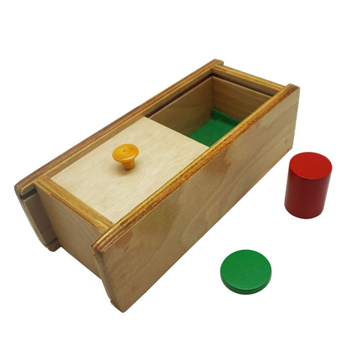 Buy Kido Toys Box With Sliding Lid Montessori Material - GiftWaley.com