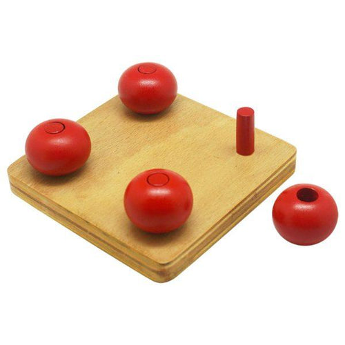 Buy Kido Toys Ellipsoids On Small Pegs Montessori Material - GiftWaley.com