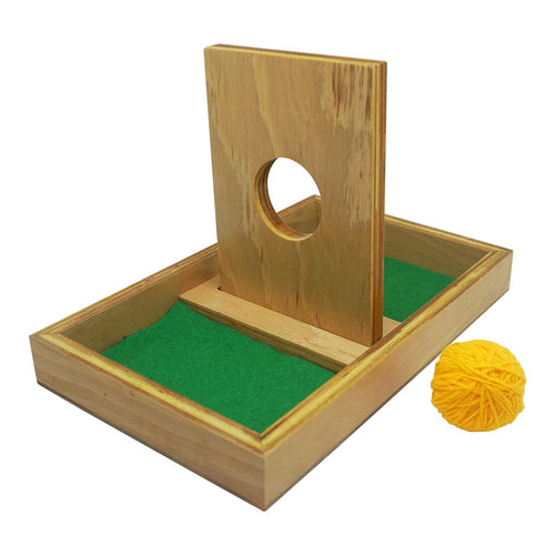 Buy Kido Toys Imbucare Board With Knit Ball Montessori Material - GiftWaley.com