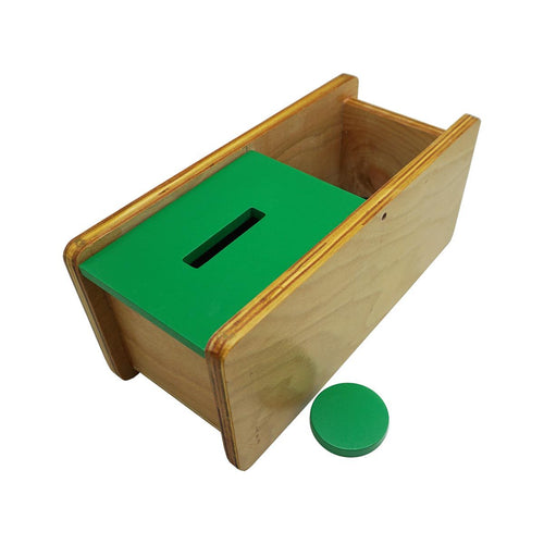 Buy Kido Toys Imbucare Box With Flip Lid Single Slot Montessori Material - GiftWaley.com