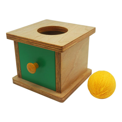 Buy Kido Toys Imbucare Box With Knitting Ball Montessori Material - GiftWaley.com