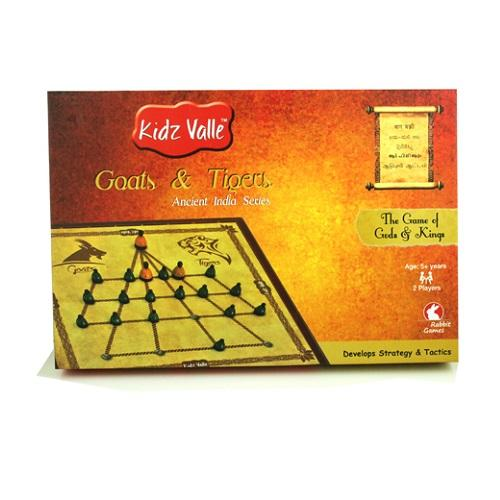 Buy Kidz Valle Goats & Tigers Indian Traditional Board Game - GiftWaley.com