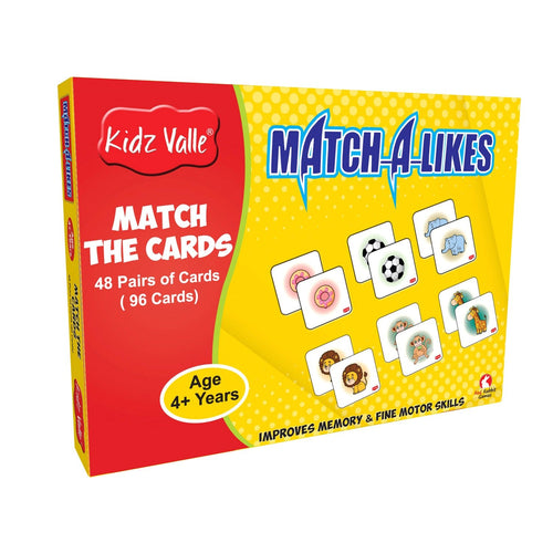 Buy Kidz Valle Match-a-Like Mermory Matching Card Game - GiftWaley.com
