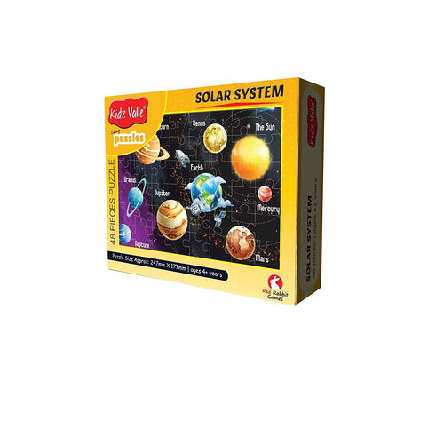 Buy Kidz Valle Solar System 48 Pieces Tiling Puzzle Game - GiftWaley.com