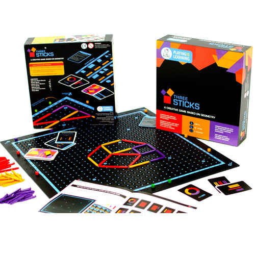 Buy Kitki Three Sticks Geometry Board Game - GiftWaley.com