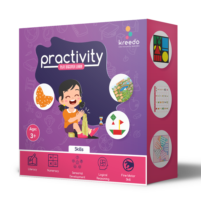 Buy Kreedo Practivity Toy Box - Level 1, For 3-4 Year Olds - GiftWaley.com