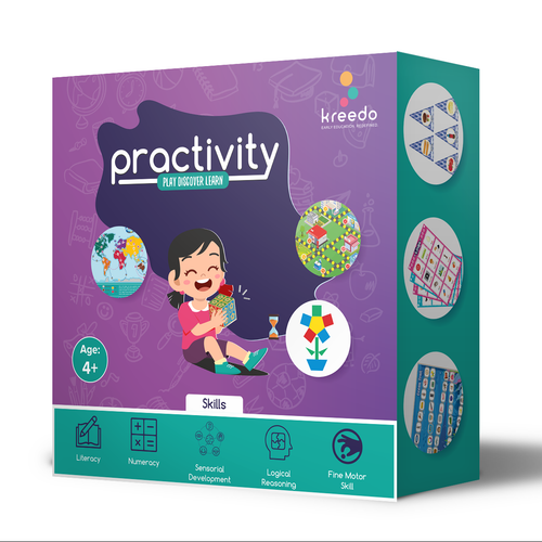 Buy Kreedo Practivity Toy Box - Level 2, For 4-5 Year Olds - GiftWaley.com