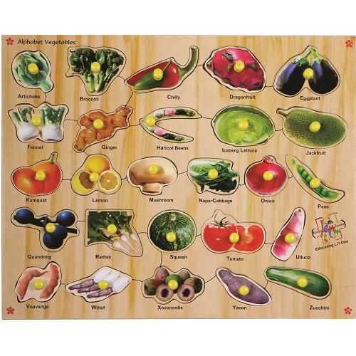 Buy Learners World Alphabet Vegetable Board - GiftWaley.com