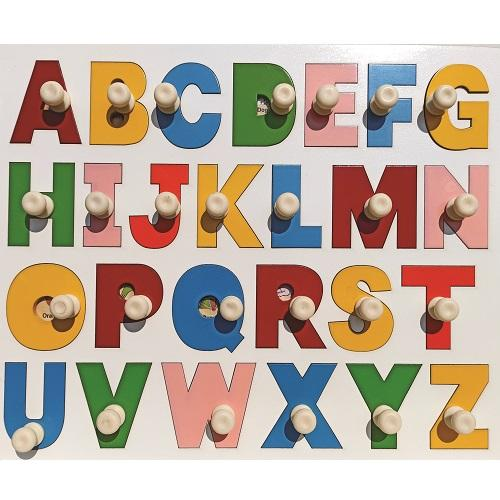 Buy Learners World Alphabet With Big Alphabet Letter - GiftWaley.com