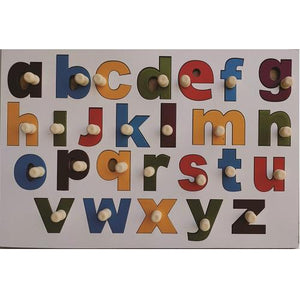 Buy Learners World English Alphabet In Lowercase With Knobs - GiftWaley.com