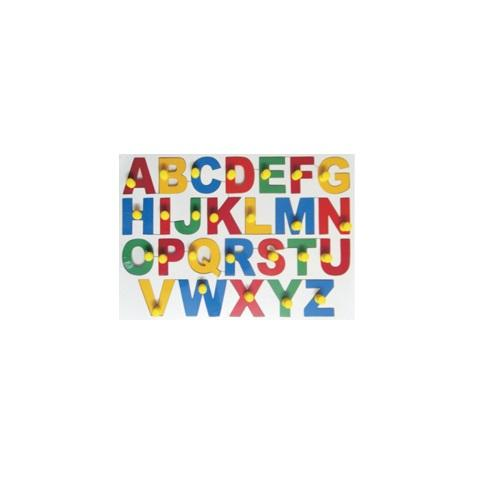 Buy Learners World Jumbo Uppercase Alphabet With Knobs - GiftWaley.com