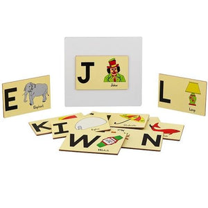 Buy Learners World Magnetic Capital Alphabet With Picture - GiftWaley.com