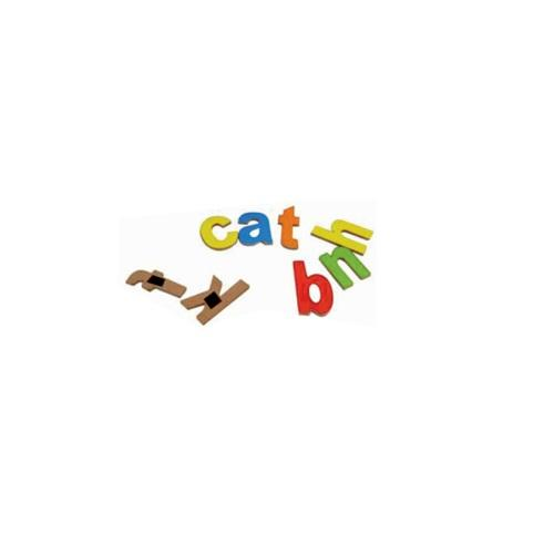 Buy Learners World Magnetic Small Alphabet Cutout - GiftWaley.com