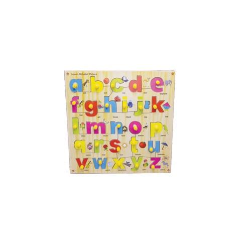 Buy Learners World Small Alphabet With Picture - GiftWaley.com