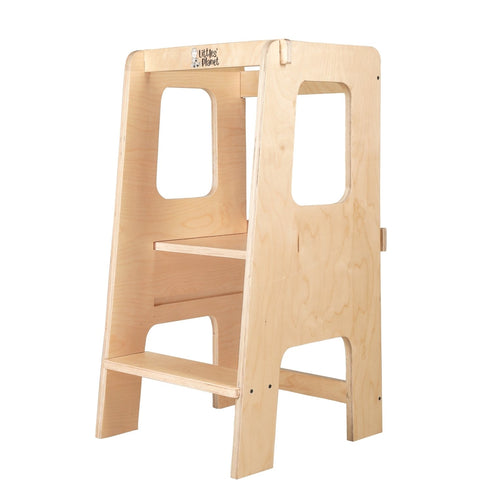 Buy Littles' Planet Montessori Learning Tower / Toddler Chef Tower - GiftWaley.com