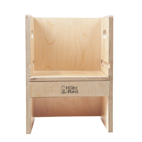 Buy Littles' Planet Montessori Wooden Block Chair - GiftWaley.com