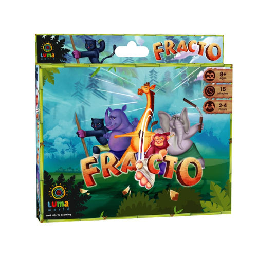 Buy Luma World Fracto Educational Card Game - GiftWaley.com