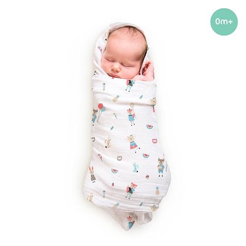 Buy Rabitat Bamboo Swaddle Wrapper Soft 47