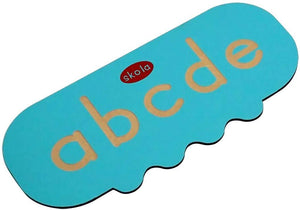 Buy Skola Alphabet Tracing Stencil Small Wooden Toy- GiftWaley.com