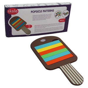 Buy Skola Popsicle Patterns Wooden Toys - GiftWaley.com