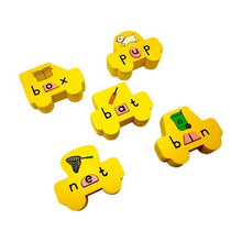 Load image into Gallery viewer, Buy Skola Vowel Cars Wooden Toys - GiftWaley.com