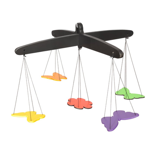 Buy Thasvi Butterfly Mobile Wooden Toy - GiftWaley.com