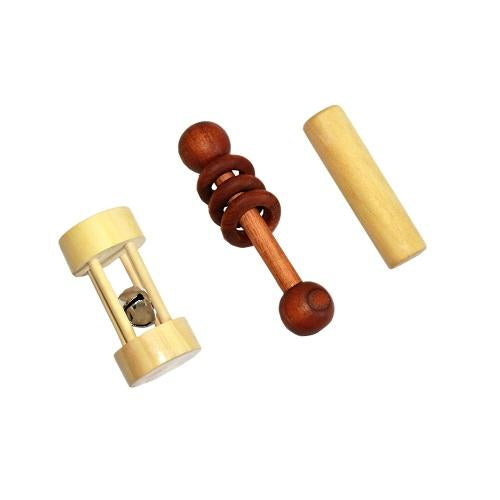 Buy Thasvi Montessori Baby With Dumbbell Rattle - GiftWaley.com