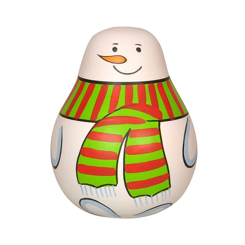 Buy Thasvi Roly Poly Snowman Wooden Toy - GiftWaley.com