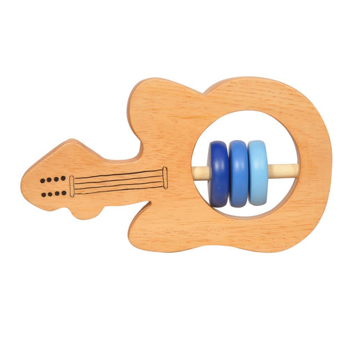 Buy Thasvi Wooden Guitar Rattle Toy - GiftWaley.com