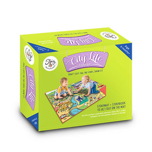 Buy The Story Merchants City Life Story Mat Activity Game - GiftWaley.com