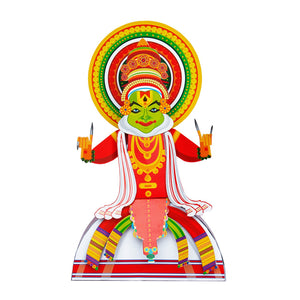 Buy Toiing 3D DIY Paper Craft Kit - Craftoi Kathakali, Teach Kids About Festivals - GiftWaley.com