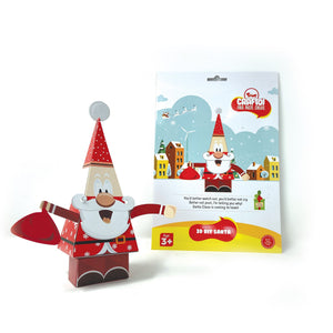 Buy Toiing 3D DIY Paper Craft Kit - Craftoi Santa, Teach Kids About Festivals - GiftWaley.com