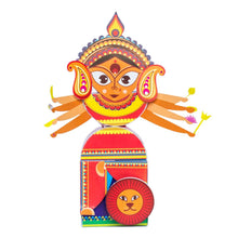 Load image into Gallery viewer, Buy Toiing 3D DIY Paper Craft Kit - Craftoi Durga, Teach Kids About Festivals - GiftWaley.com