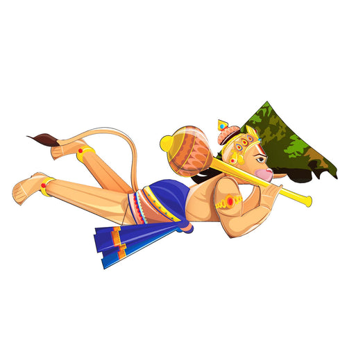 Buy Toiing 3D DIY Paper Craft Kit - Craftoi Hanuman, Teach Kids About Festivals - GiftWaley.com
