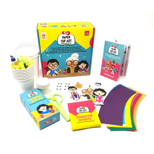 Buy Toiing DIY Paper Cup Craft Kits - Paper Cup Art, For Imaginative Play - GiftWaley.com