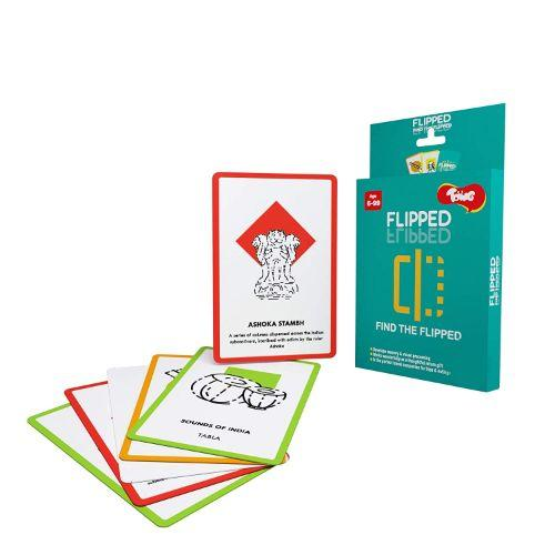 Buy Toiing Educational Card Game - Flipped, For Improving Memory - GiftWaley.com
