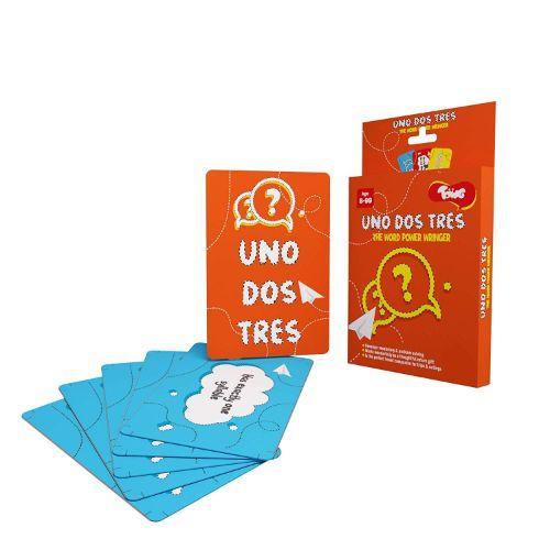 Buy Toiing Educational Card Game - Uno Dos Tres, Based On Vocabulary - GiftWaley.com