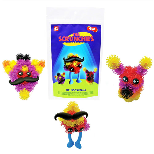 Buy Toiing Innovative Construction & Building Set - Scrunchies Mr Mooshtang - GiftWaley.com