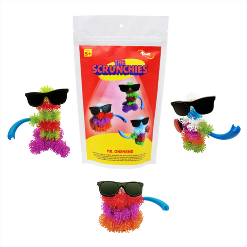 Buy Toiing Innovative Construction & Building Set - Scrunchies Mr Onehand - GiftWaley.com