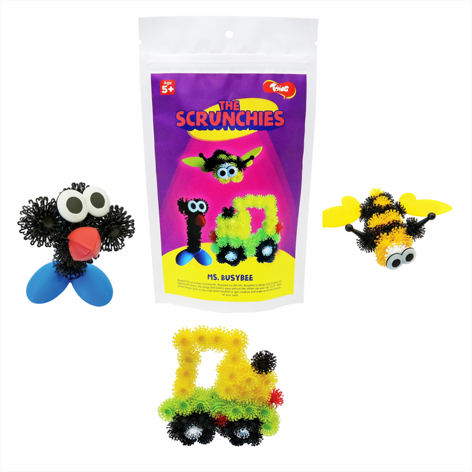 Buy Toiing Innovative Construction & Building Set - Scrunchies Ms Busybee - GiftWaley.com